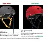 Different 'Skater' helmets